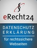 E-Recht24 Datenschutz Siegel
